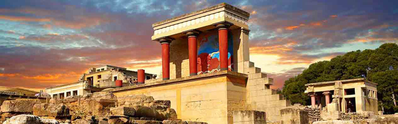 Tour to Heraklion Town and Knossos Palace tour